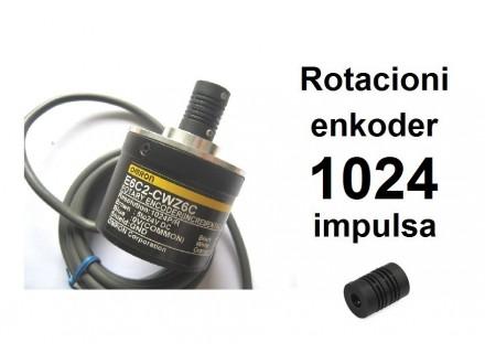 Rotacioni enkoder - 1024 impulsa - OMRON - NPN