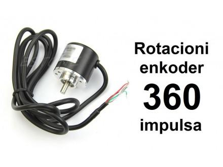 Rotacioni enkoder - 360 impulsa - NPN