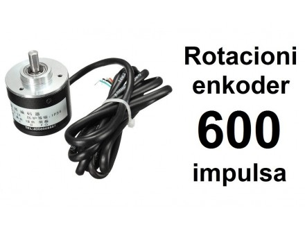 Rotacioni enkoder - 600 impulsa - NPN