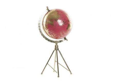 Roze globus 18,5x16,5x38