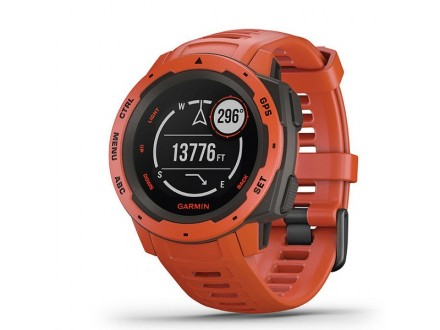 Ručni Outdoor GPS sat Garmin Instinct Flame Red