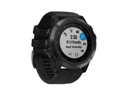 Ručni Outdoor GPS sat Garmin fenix 5x PLUS Sapphire Crni