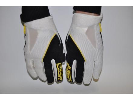 Rukavice Scott Bike XC glove belo crno zute  L velicina