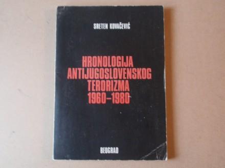 S. Kovačević - Hronologija antijugoslovenskog terorizma