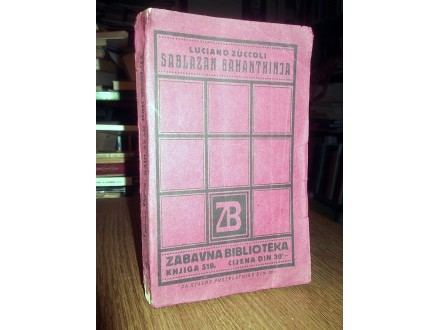 SABLAZAN BAHANATKINJA - Luciano Zuccoli (1932)