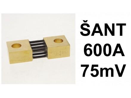 SANT - 600A - 75mV - otoka