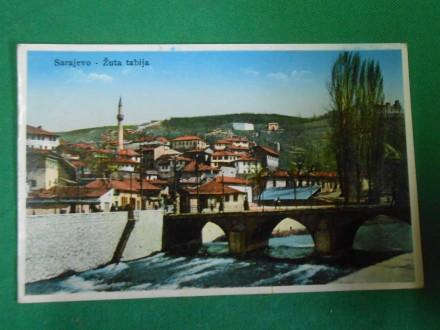 SARAJEVO-Žuta  Tabija   cca 1920-1930.