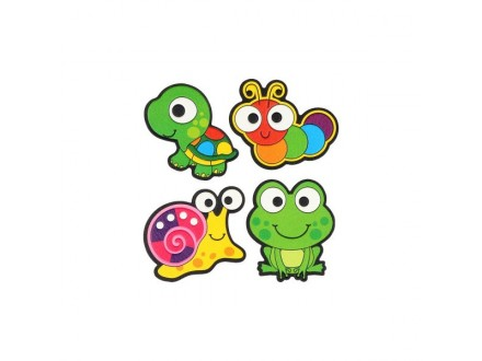 SCHOOL stiker Patch Me 407306 Snail and Frog