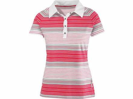 SCOTT Loop zenska polo majica Vel. S belo crvena