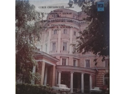 SEMYON - SNITKOVSKY - Violin..Paganini.Vieuxtemps