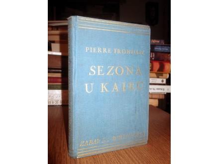 SEZONA U KAIRU - Pierre Frondaie (1936)