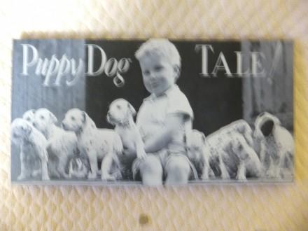 SLIKA  PUPPY DOG   na slikarskom platnu- kanavisu