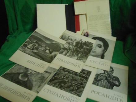 SLIKARI I VAJARI, II kolo-6 monografija-150 reprodukcij
