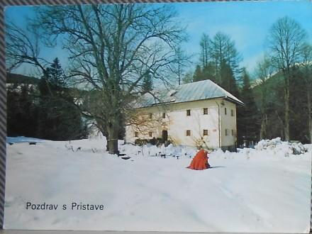 SLOVENIJA -DOM PRISTAVA-na Javoriškem rovtu(930.m)(X-62