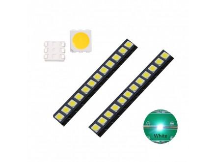 SMD LED DIODA 5050 BELA-100 KOMADA