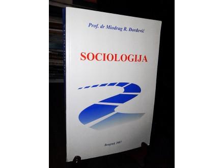 SOCIOLOGIJA - Miodrag R. Đorđević