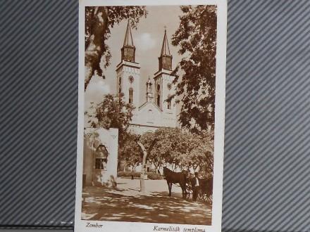 SOMBOR-KATOLIČKA CRKVA 1940-1950    ( II-84 )