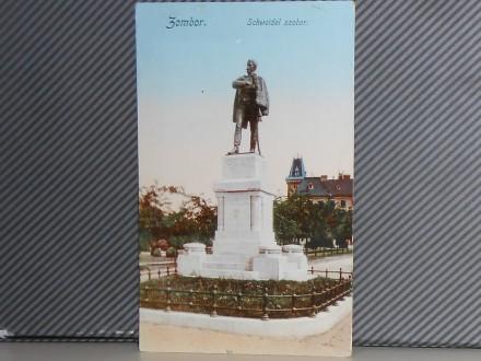 SOMBOR-SCHWEIDEL SZOBOR 1910-1920   ( II-80 )
