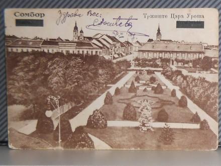 SOMBOR- TRŽIŠTE CARA UROŠA 1920-1930 ( II-92 )