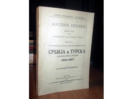 SRBIJA I TURSKA: Jildiz-Porta-Fanar - Đorđević (1928)