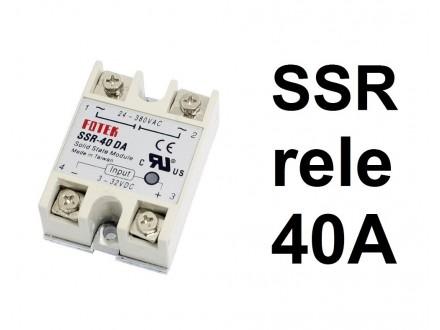 SSR rele - 40A - Solid state relay - SSR-40 DA