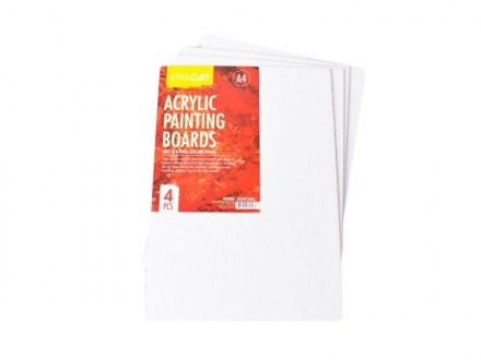 STANDARDT Acrylic Painting Boards 602802
