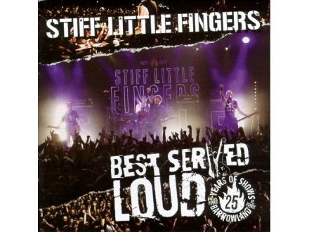 STIFF LITTLE FINGERS Best Served Loud-Live At Barrowlan