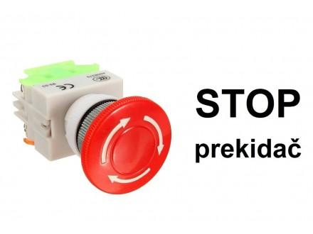 STOP prekidac - pecurka - sigurnosni taster