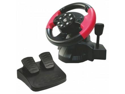 STR-MV-02 * Volan sa pedalama i vibracijom, za PlayStation 2/3 i PC