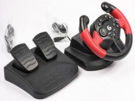 STR-UV-01 * Volan sa pedalama i vibracijom, za  PlayStation 3 i PC