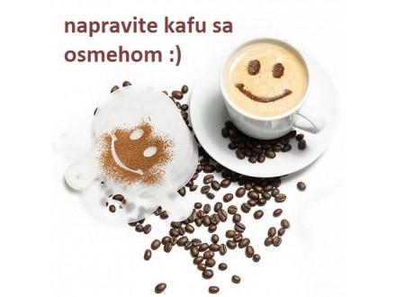 Šabloni za dekorisanje kafe
