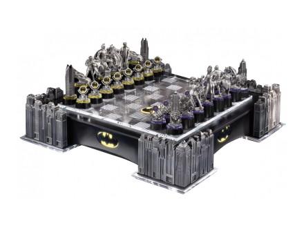 Šah - Batman Pewter Chess Set - DC Comics