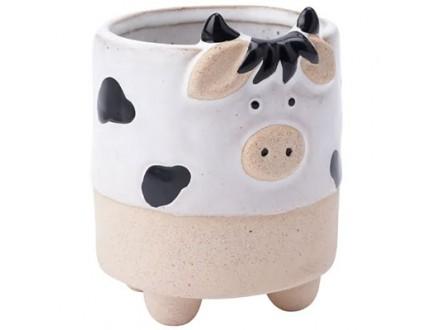 Saksija - Stoneware, Cow - Stoneware