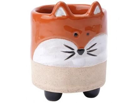 Saksija - Stoneware, Fox - Stoneware