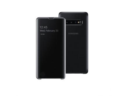 Samsung Clear View stojeca futrola S10 Plus crna