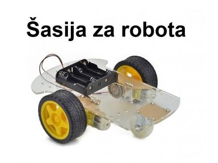 Sasija za pametan auto - Robot sa tahometrom