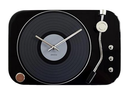 Sat - Turntable, Black