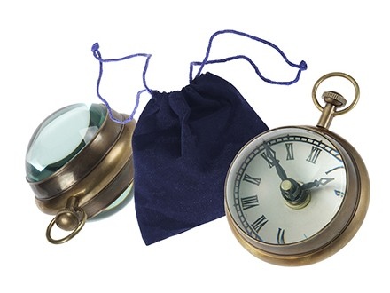 Sat-kompas Paperweight Roman Numeral Spherical