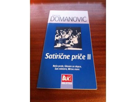 Satirične priče II Radoje Domanović