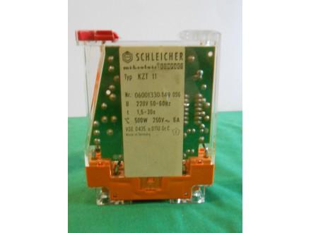 Schleicher KZT 01 vremenski relej,microlais,220V,1,5-30