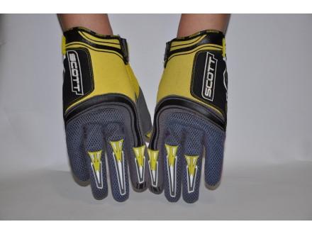 Scott San Diego rukavice za voznju MTB bicikla Sivo zut