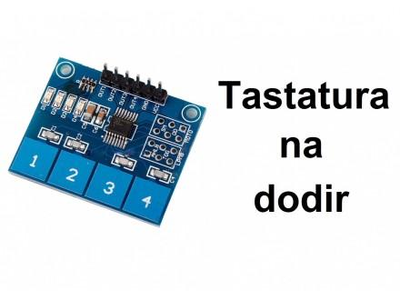 Senzor dodira - cetvorostruki - Touch sensor