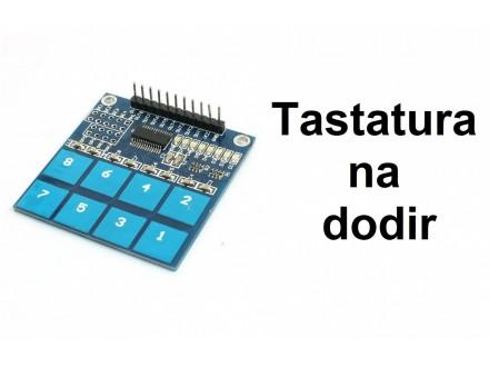 Senzor dodira - osmostruki - Touch sensor