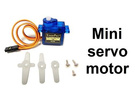 Servo motor SG90 - mini mikro motor