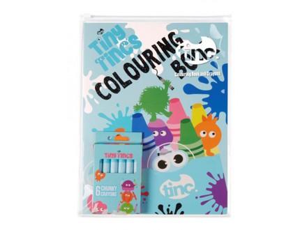 Set bojanka i voštane boje - Tiny Tincs