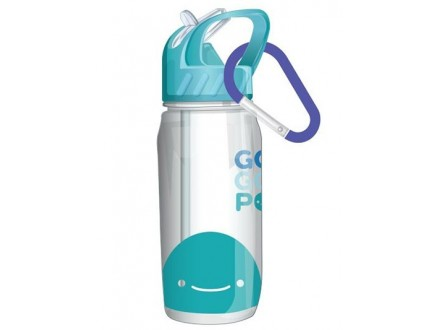 Set: flaša i školski pribor - Blue - GoGoPo