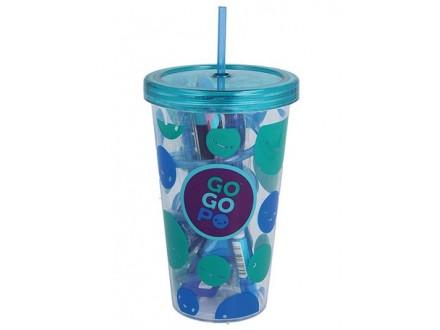 Set: flaša i školski pribor - Blue Milk Shake - GoGoPo