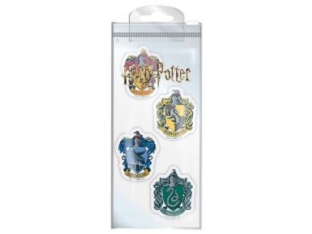 Set gumica za brisanje - Harry Potter, Houses - Harry Potter
