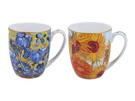 Set šolja - Van Gogh, Sunflowers &; Irises - Van Gogh