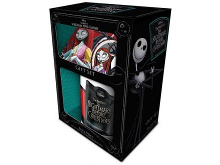 Set šolja, privezak i podmetač - Nightmare Before Christmas, Jack &; Sally - Nightmare Before Christmas